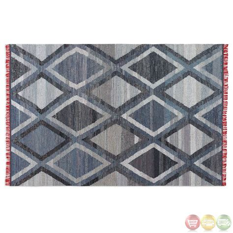 recycled rugs akeela recycled denim woven rug 71039