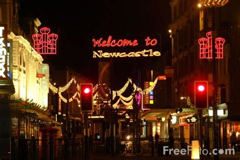 northumberland street christmas lights newcastle upon