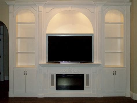 Entertainment Wall Units With Electric Fireplace by Custom Entertainment Centers Custom Wall Units Orlando Fl