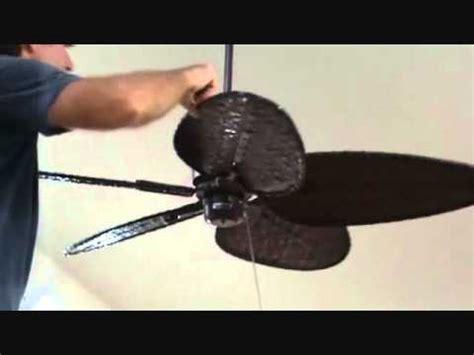 Tighten Ceiling Fan by Adjusting The Ceiling Fan Blades