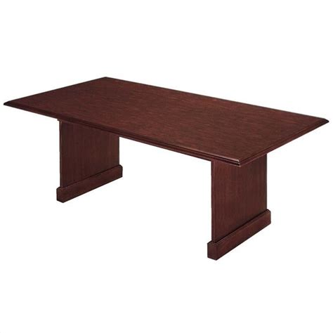 Rectangular Meeting Table Flexsteel Governors Rectangular 8 Conference Table In Mahogany 7350 94