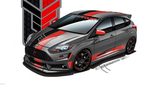 tuned cars ford announces 5 custom focus st tuned cars for sema