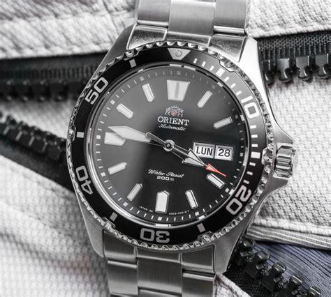 Orient Black 2 orient mako usa ii watches on ablogtowatch