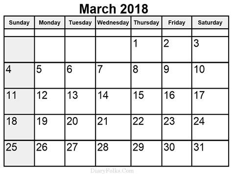 2018 calendar template for word 2010 march 2018 calendar word printable