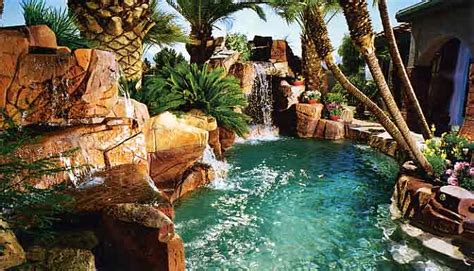 cool backyards with pools triyae cool backyard pools various design