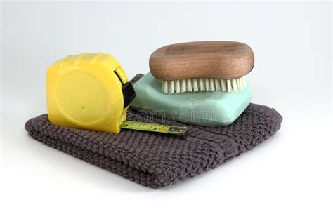 simple rugged mens construction clean up items royalty free stock photos image 29780618