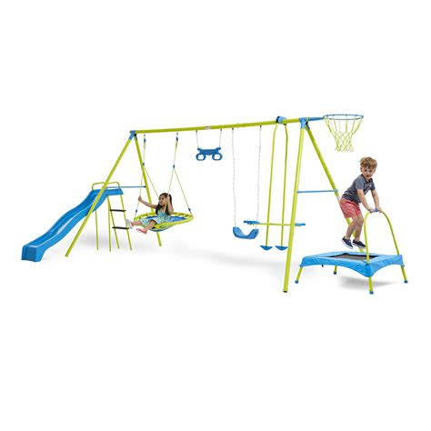 k mart swing sets 7 station swing set kmart