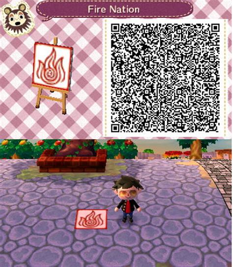 deviantart more like animal crossing new leaf qr anna from animal crossing new leaf qr fire nation by jennymwwolf on
