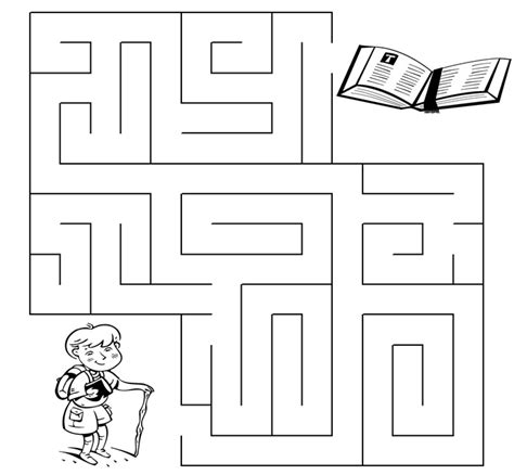 the work of the holy spirit maze puzzle