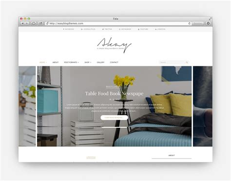Wordpress Theme Blog And Shop | the ultimate collection of the top minimalist wordpress
