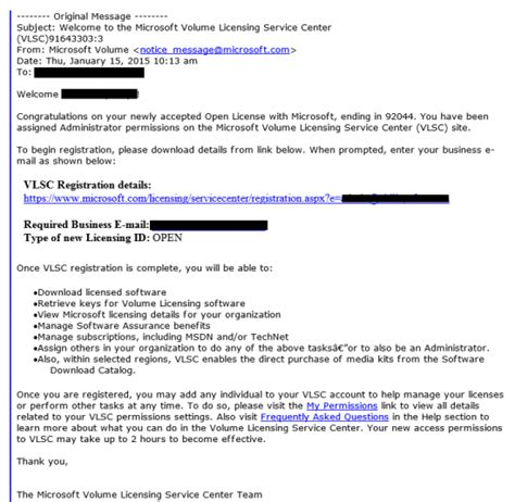 email corporate fake volume license trojan targets corporate users and