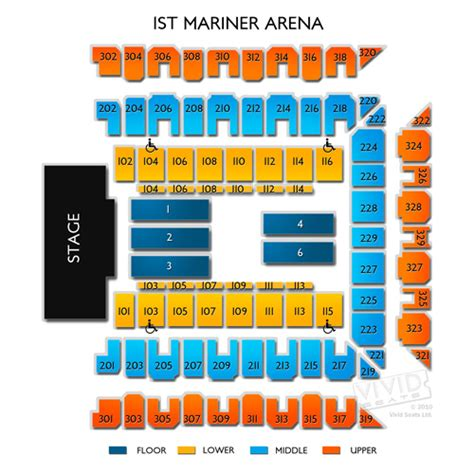baltimore arena seating royal farms arena tickets royal farms arena seating