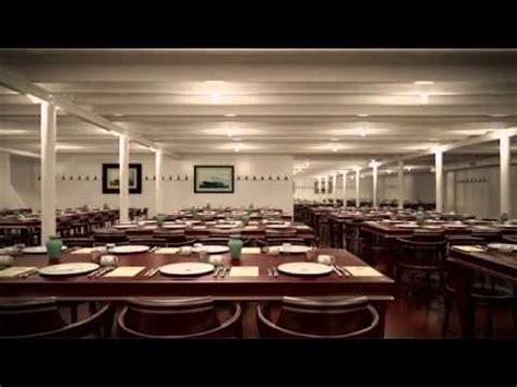 titanic third class dining room titanic ii third class dining room