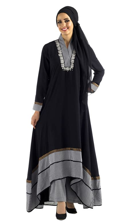 Kymberline Set Muslim By Qilla Fashion black print salwar kameez set