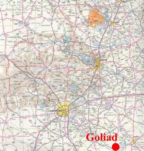 goliad texas map goliad texas