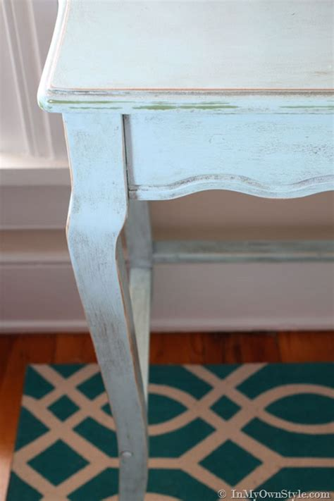 Chalk Paint Furniture Diy by A Family Affair Diy Chalk Painted Desk In Own Style
