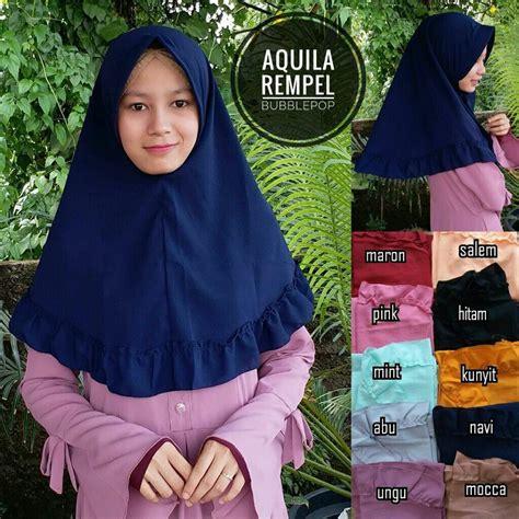 Jilbab Anak Aqila jilbab aquila rempel 183 sentral grosir jilbab i produsen