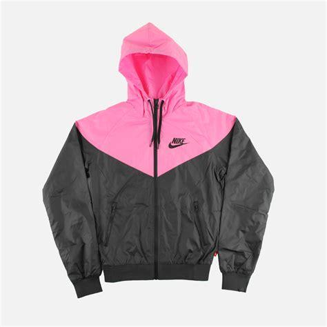 Nike Windrunner Pink Black Nike Windrunner Black Pink Villa