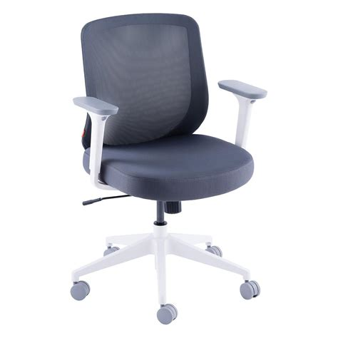 container store desk chair dark grey poppin max task chair the container store