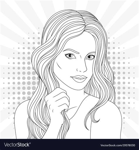 beautiful coloring pages beautiful coloring pages royalty free vector image