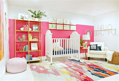 colorful nursery modern ranch reno colorful baby nursery clutter