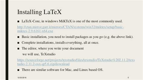 qt5 layout exle latex workshop