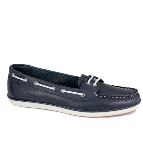 boat shoes ladies uk tbs ladies clamer moccasin boat shoe blue shoes gb