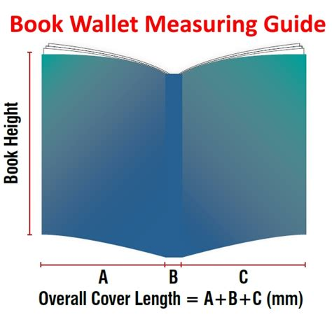 measurement picture books book wallets standard sized kpc book protection