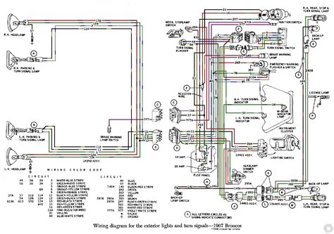 ford galaxie  wiring diagram wiring diagram