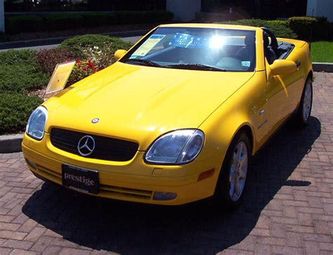 1998 mercedes slk230 kompressor sunburst yellow