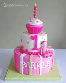sweetthings colorful 1st birthday cake