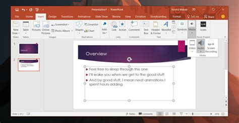 format audio for powerpoint how to hide the sound effects icon in powerpoint
