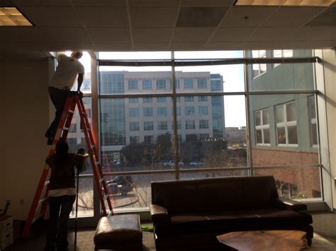 office post construction cleaning at the shops at legacy
