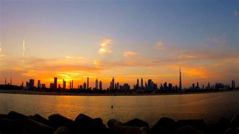 dubai sunrise timelapse youtube