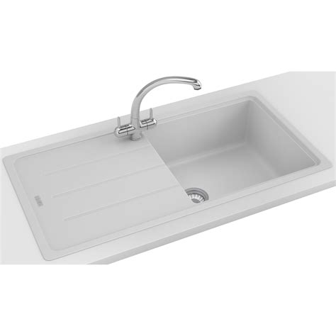 fragranite kitchen sinks franke basis propack bfg 611 970 fragranite polar white