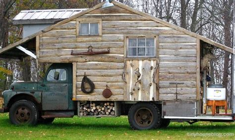 tiny house truck on wheels is the new off grid a guide to tiny houses survivopedia
