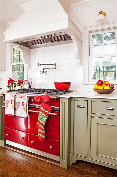 christmas decorating ideas for kitchen 23 ways to decorate your kitchen for the holidays