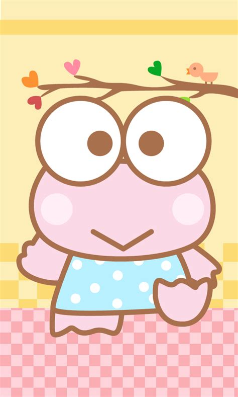 wallpaper keroppi pink keroppi go launcher theme android themes