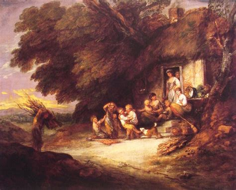the cottage door gainsborough wikiart org