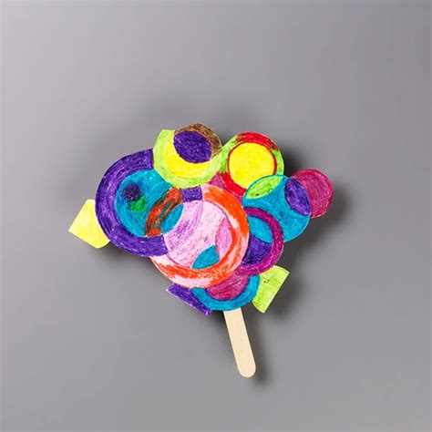 Paper Craft Fan - korean paper fan craft crayola