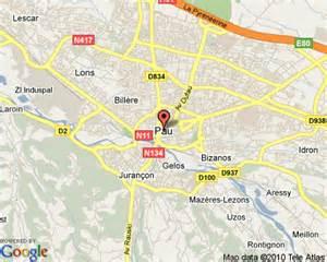 Pau France Map by Pau France