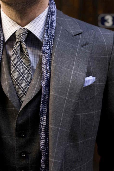 windowpane pattern worth  parisian gentleman