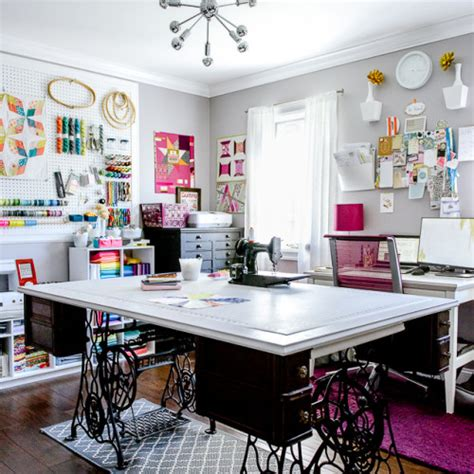 diy craft studio treadle sewing machine diy project ideas furnish burnish
