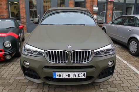 Auto Matt by Bmw X4 Folierung Nato Oliv Matt Nato Oliv