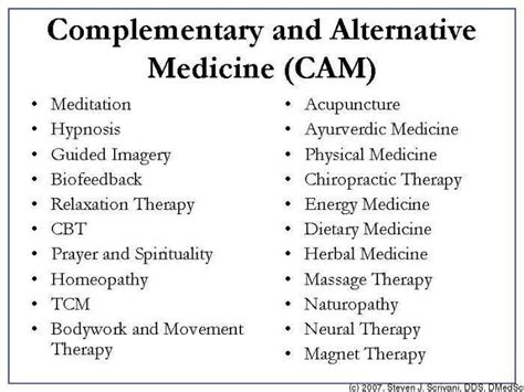 8 Great Alternative Therapies by Complementary Alternative Medicine Alternative Medicine