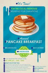 Pancake breakfast poster canada ticket printing