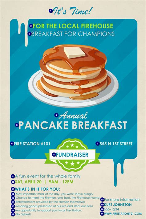 Pancake Flyer Template 8 best images of pancake printable template pancake