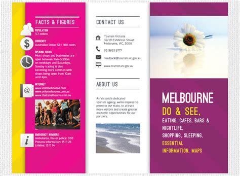 Holiday Brochure Design Travel Trifold Brochure Travel