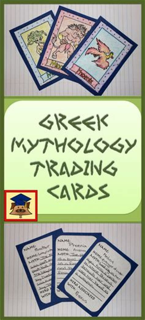 mythology trading cards template teaching randy on trading cards chocolate