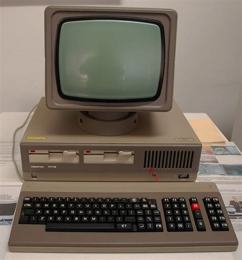 deck top computers for sale robotron computer 1715 ddr museum radebeul july 2012